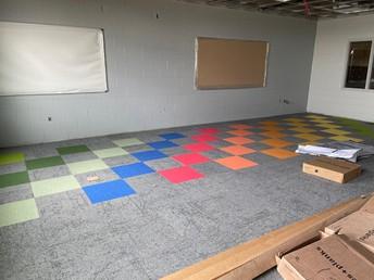 Love this carpet pattern!