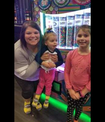 Ms. McEndree went to Skyzone with her daughters!