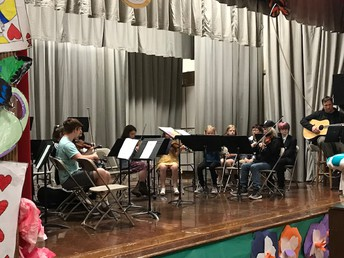 CES & CJHS Musicians playing together