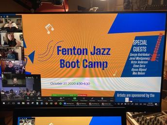 Fenton Jazz Boot Camp 2020!