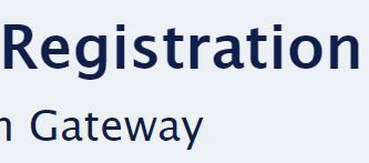 Registration Gateway---- Very Important