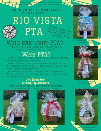 Rio Vista PTA Flyer