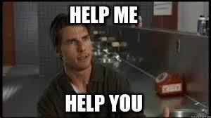 ¡Ayúdeme a ayudarle!