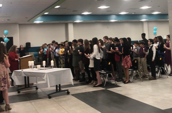 NJHS Inducts New Members