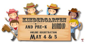 Kindergarten Roundup Set for May 4 & 5
