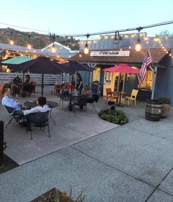 Nice patio scene.