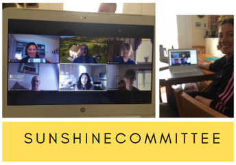 Spreading Sunshine Even during a Virtual Time