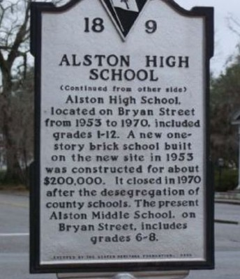 ALSTON HIGH SCHOOL ALUMNI - WE WANT TO HEAR FROM YOU