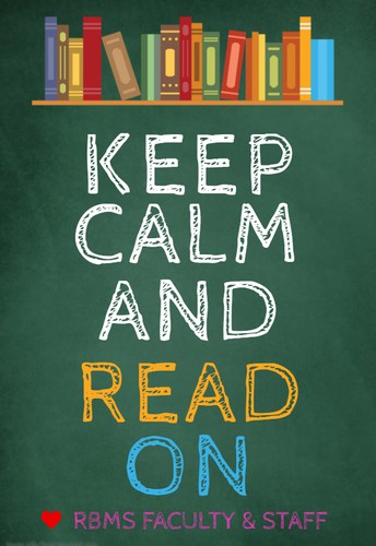 KEEP CALM AND READ ON CHALLENGE
