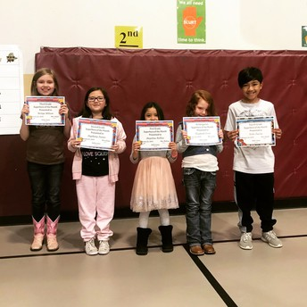 February Student Superheroes of the Month