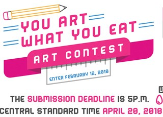 """You Art What You Eat"" Art Contest for Students"