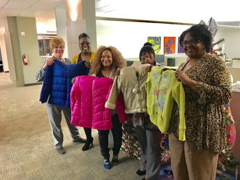 Wells Fargo Coat Drive