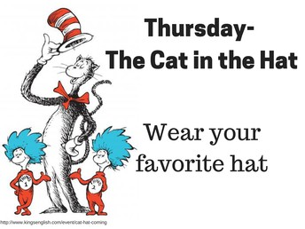 Thursday - Cat in the Hat