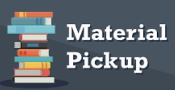 MATERIAL PICK-UP FOR VIRTUAL LEARNERS