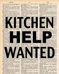 TLS KITCHEN ASSISTANT NEEDED - PAID POSITION