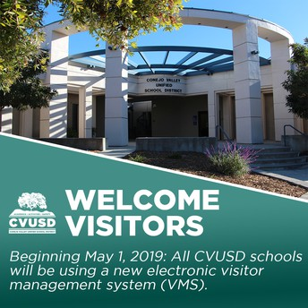 New Electronic Visitor Management System Coming to All CVUSD Schools