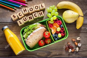 May Lunch Menu