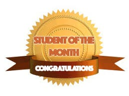 Congratulations January Students of the Month