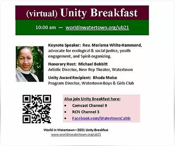 2021 Virtual Unity Breakfast