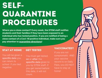 Self-Quarantine Procedures