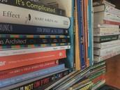 On our Bookshelves...