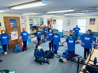 Mrs. Lavertu's Class - The 100 Mile Club
