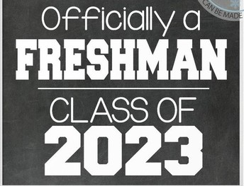 Weclome Class of 2023!