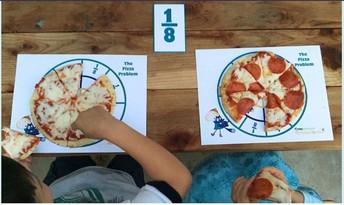 Peg's Pizza Fractions