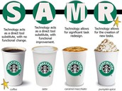 SAMR with Starbucks
