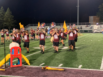"""JHS Marching Band Performs """"Reminisce"""""""
