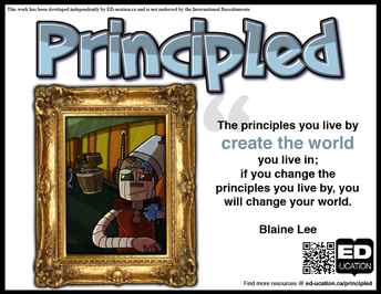 IB Profile Word for January: Principled