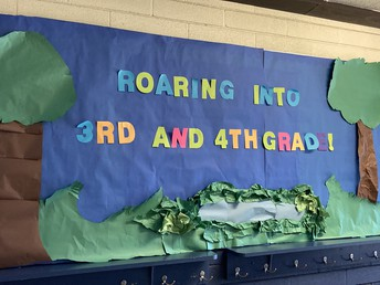 3rd/4th Grade Bulletin Board