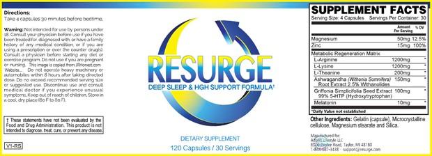 Resurge Reviews Report - OMG WOW!!!