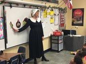Mrs. McCutcheon Teaching about Turkeys