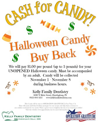 Halloween Candy Buy Back!