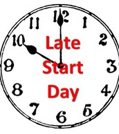 PLC- 2 Hour Late Start-May 9