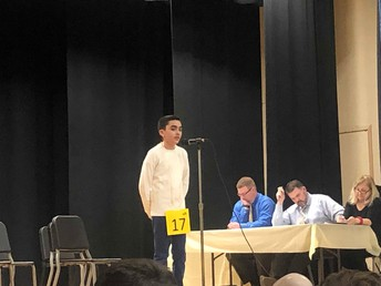 Our District Spelling Bee