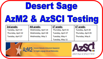AzM2 Testing for 3rd-6th grade