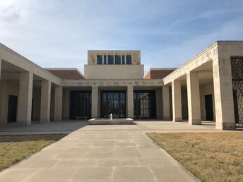 George W. Bush Presidential Library On Campus