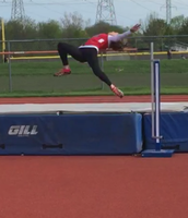 Eve Meintz: Champion High Jump!