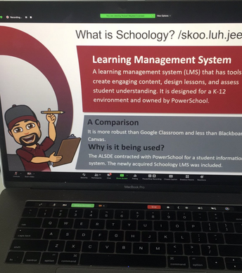 Schoology Training with Dr. Robert Mayben