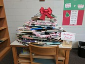 Girl Power Holiday Book Tree