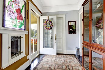 #9 Swap Your Solid Front Door for One With Glass Inserts