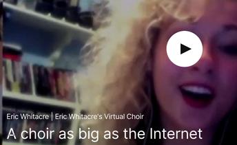 Whitacre: A Choir As Big As The Internet