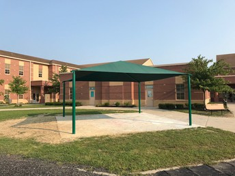 Shade Structure Dedication on October 10th