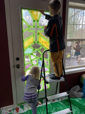 Paint A Stained Glass Window