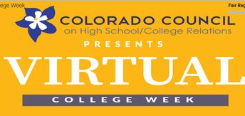 Colorado Council on High School College Relations Virtual College Week