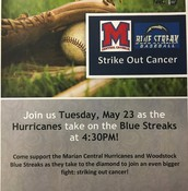 Help STRIKE-OUT Cancer!  May 23, 2017