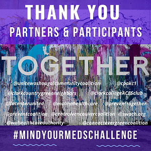 Thank You Partners & Participants - Mind Your Meds Challenge
