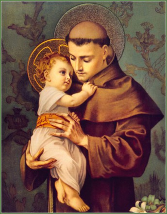 St. ANTHONY OF PADUA - PATRON OF LOST THINGS